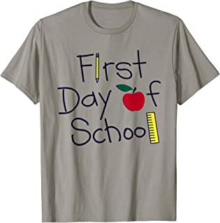 Happy First Day of School Shirt Teachers Students Parents