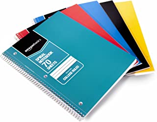 5 star 1 subject notebook college ruled