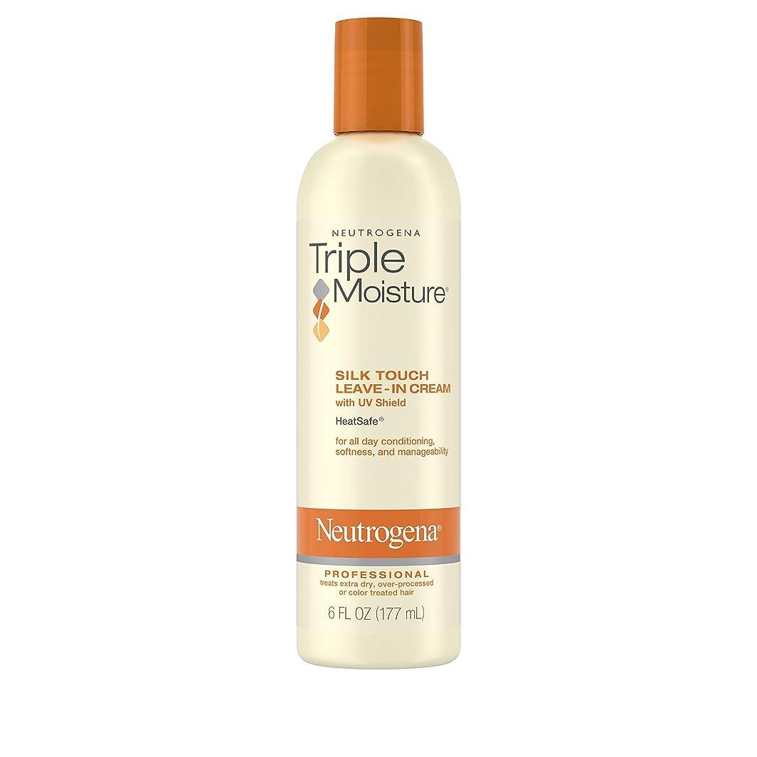 情熱的整理する花嫁Neutrogena Triple Moisture Silk Touch Leave-In Cream 175 ml (並行輸入品)