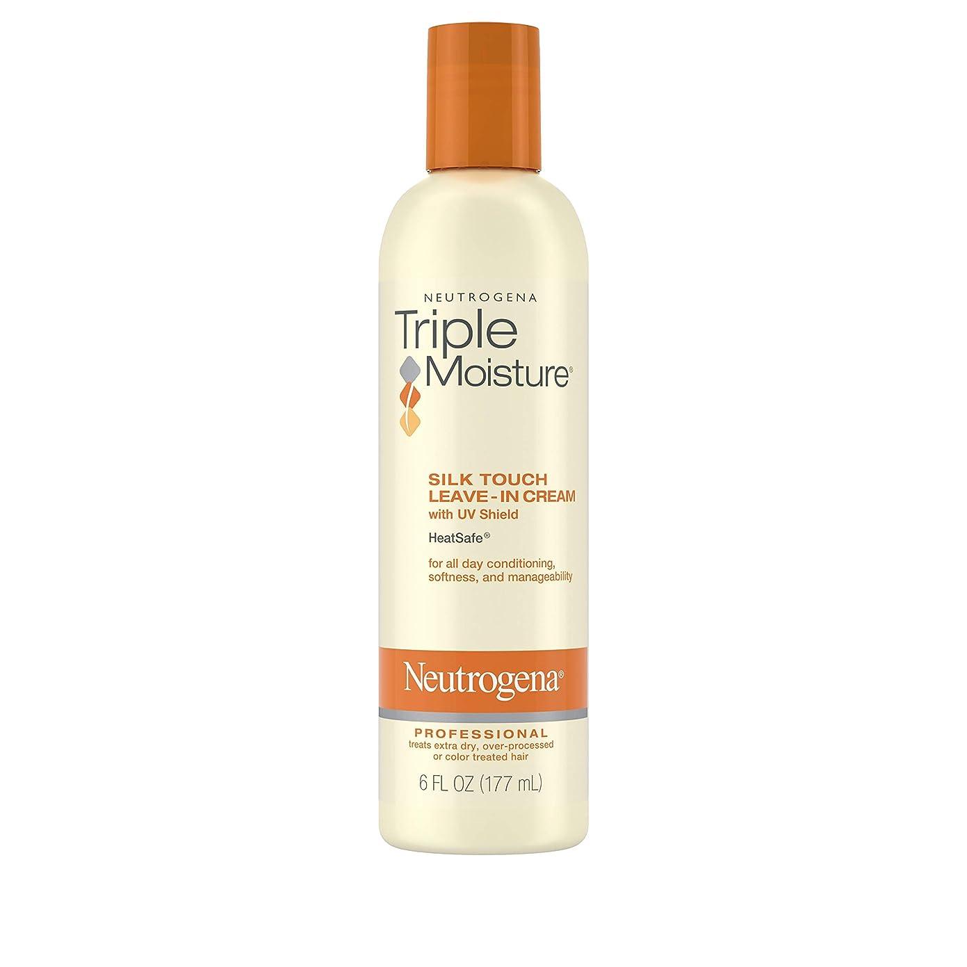 腐敗した避けるコマンドNeutrogena Triple Moisture Silk Touch Leave-In Cream 175 ml (並行輸入品)