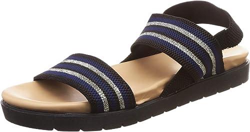 Women s Lama X Black Fashion Sandals 5 UK India 38 EU 410196785004