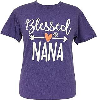 Girlie Girl Blessed Nana Short Sleeve T-Shirt Adult