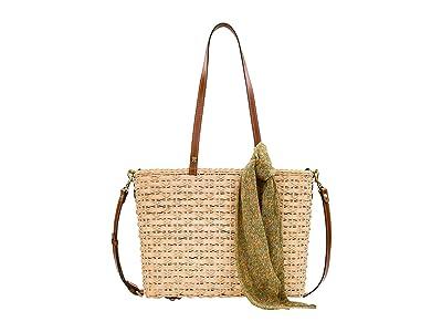 Patricia Nash Talara Tote (Natural/CB Scarf) Bags