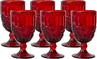 red water goblet