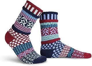 mismatched cotton socks