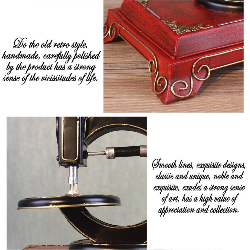 Luban Adornos Creativo Retro Vintage Máquina de Coser Modelo de ...