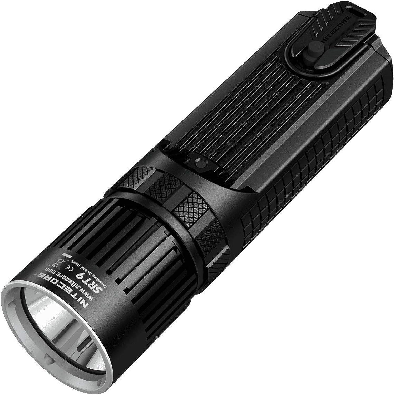 Nitecore SRT9 2150 Lumens Smart Ring Tactical LED Flashlight
