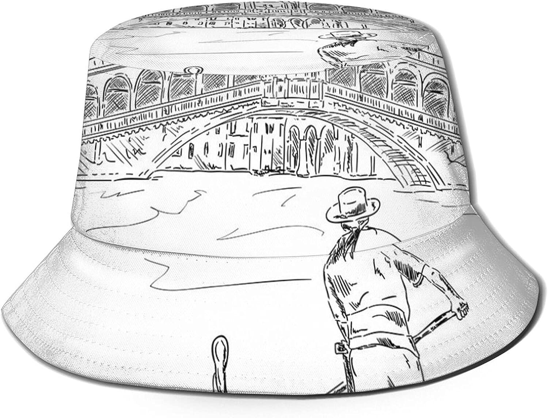 Padoni Bucket Hat Popular products Unisex Trendy Beach Outdoor Fort Worth Mall Summer Lightweight