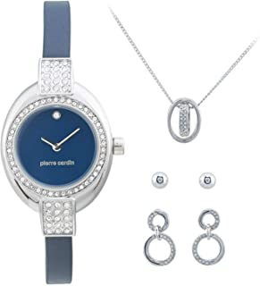 Pierre Cardin Womens Quartz Watch, Analog Display and Stainless Steel Strap PCX6179L263