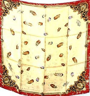 Jingjingart Large 100% الحرير Charmeuse مع خيط ذهبي وشاح شال التفاف ريشة A190