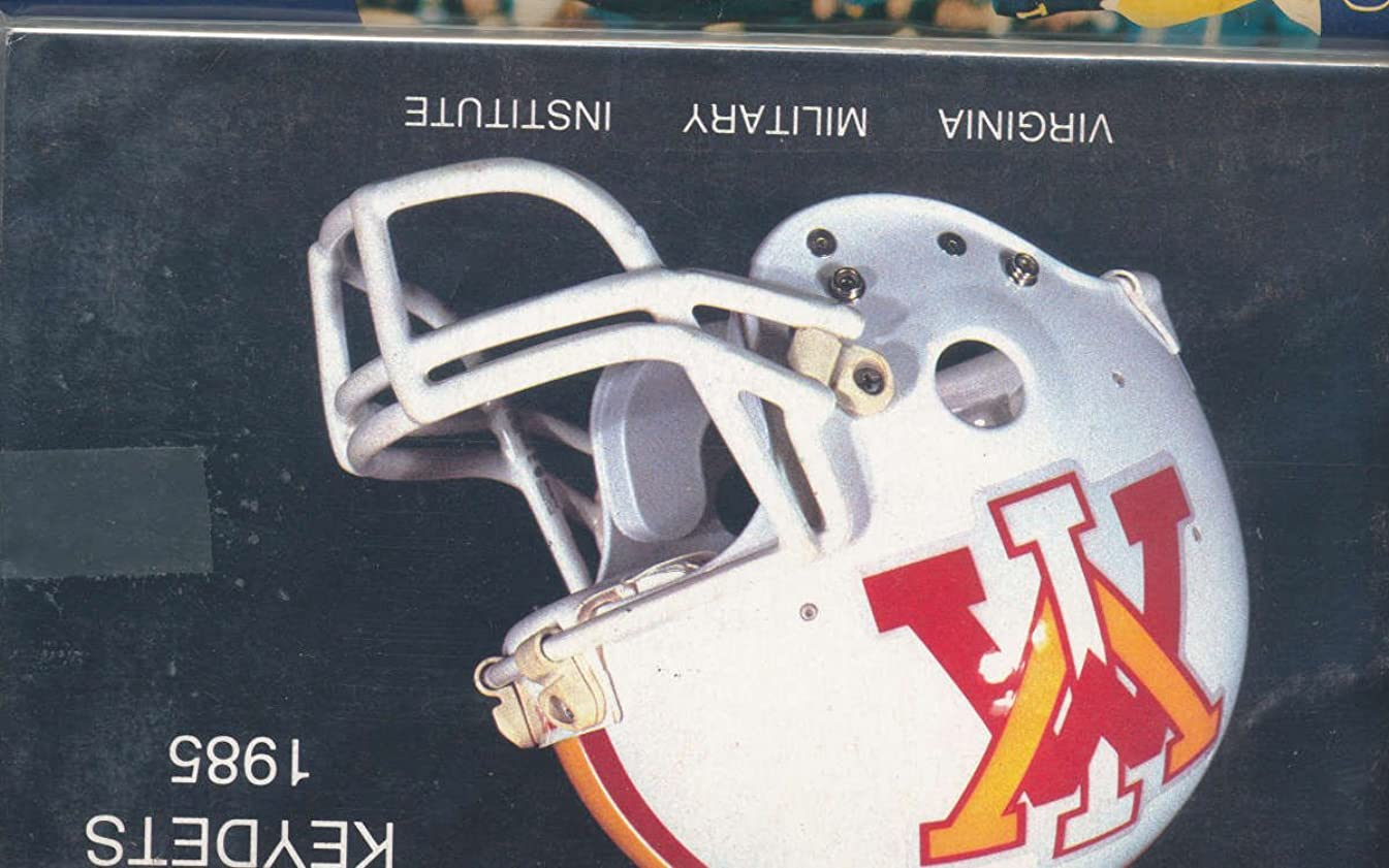 1985 VMI Football Media Press Guide