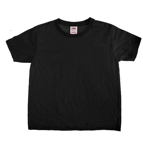 1d5d8d0e9 Fruit of the Loom Camiseta Básica de Manga Corta Tacto Super Suave Modelo  Sofspun Unisex Niños