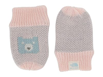 The North Face Kids Faroe Mitt (Infant) (Windmill Blue/Purdy Pink Multi) Extreme Cold Weather Gloves