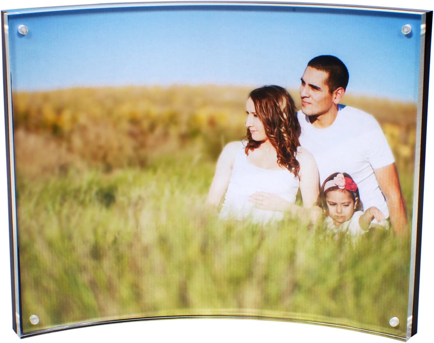 Peugeot Premium Quality Curved Acrylic Max shopping 77% OFF Picture with 4 Frame Corn