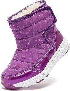 کفش بچه گانه برفی HOBIBEAR Toddler برای پسران بچه گانه بچه گانه در فضای باز (کودک نو پا/بچه کوچک)
