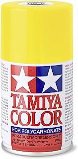 Tamiya RC Cars Accessories Polycarb Spray Paint - 3 oz, TAM86006, Yellow, PS-6