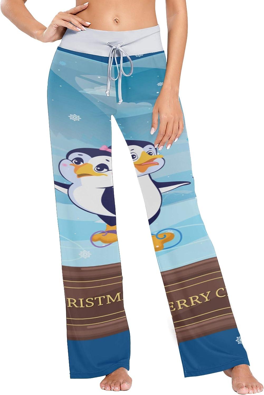 Women's Pajama Bottoms Christmas Yoga mart Selling rankings Ladies Glass-Ball Pan