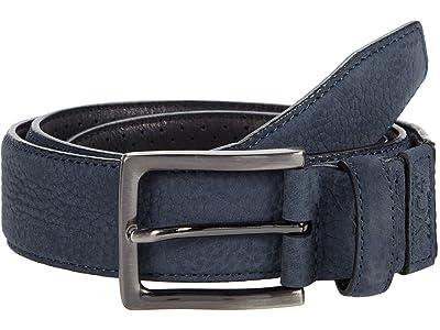 Johnston & Murphy XC4 Dress Belt (Navy Leather) Men