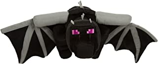 JINX Minecraft Ender Dragon Deluxe Plush Stuffed Toy, Black, 24
