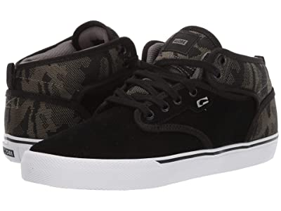Globe Motley Mid (Camo Knit/Black) Men