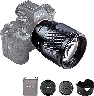 VILTROX 単焦点レンズ EF 85mm F1.8 STM 二代目 瞳AF対応 Sony Eマウント用 フルサイズ対応 Eマウント交換レンズ F1.8大口径 a7C/a7Ⅱ/a7RⅡ/a7Ⅲ/a7RⅢ/a7RⅣ/a9/a6600/a6500...