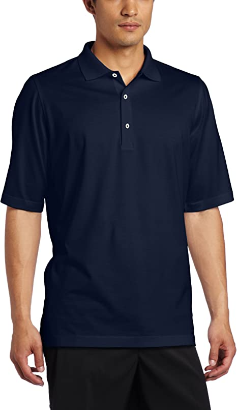 Fairway /& Greene Mens Made in The USA Solid Jersey Polo