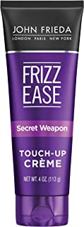 John Frieda Frizz Ease Secret Weapon Touch-Up Crème, Anti-Frizz Styling Cream, Helps to Calm and Smooth Frizz-prone Hair, 4 Ounce