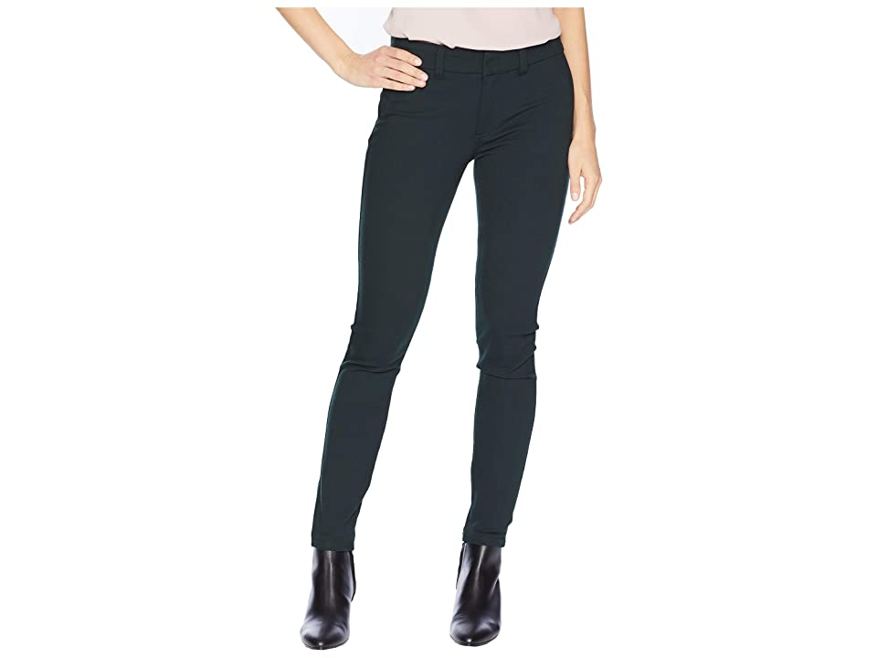 KUT from the Kloth Mia Ankle Skinny Jeans with Front Faux Pockets in Deep Green (Deep Green) Women
