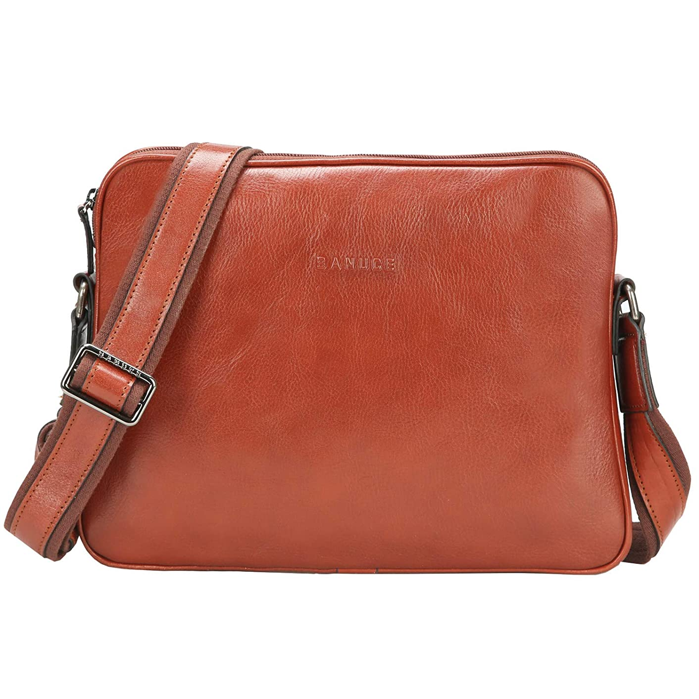 """オーストラリア人縫い目しっとりショルダーバッグ メンズ メッセンジャーバッグ 本革 カバン 斜め掛けバッグ イタリア 革 軽量 薄型 9.7""""iPadの収納 ビジネスバッグ"""