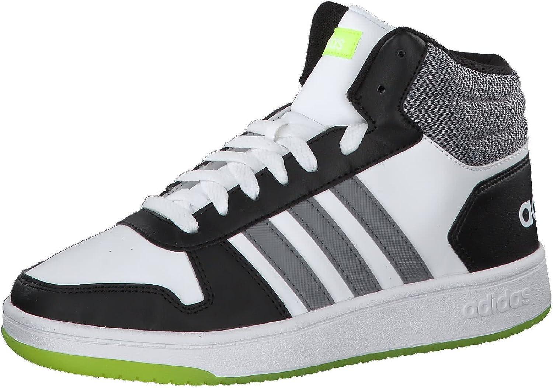 adidas Hoops Mid 2.0 K, Zapatillas de Deporte Unisex niños