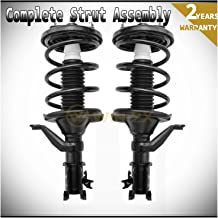 WIN-2X New 2pcs Front Left & Right Side Quick Complete Suspension Shock Struts & Coil Springs Assembly Kit Fit Honda Civic 02-05 Si 3-Door Hatchback 03-05 2-Door Coupe/4-Door Sedan