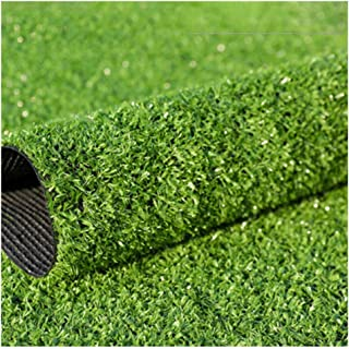 YNFNGX Artificial Turf Grass Height 10mm Outdoor Encryption Synthetic Grass Carpet Roof Garden Decoration 2x1m (Size : 2x8m)