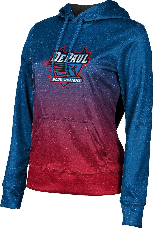 ProSphere DePaul University Girls' Pullover Hoodie, School Spirit Sweatshirt (Ombre)