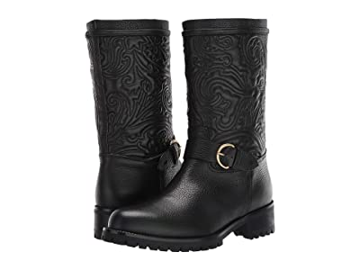 Etro Embroidered Boot (Black) Women