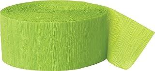 CREPE STREAMER 81FT-Lime Green, Unisex