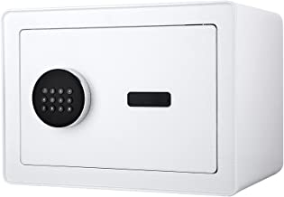 Diosmio 0.8 Cub Safe Box with Fireproof Bag for Home Office, All-Steel Cabinet Safe with Digital Keypad and Keys for Money...