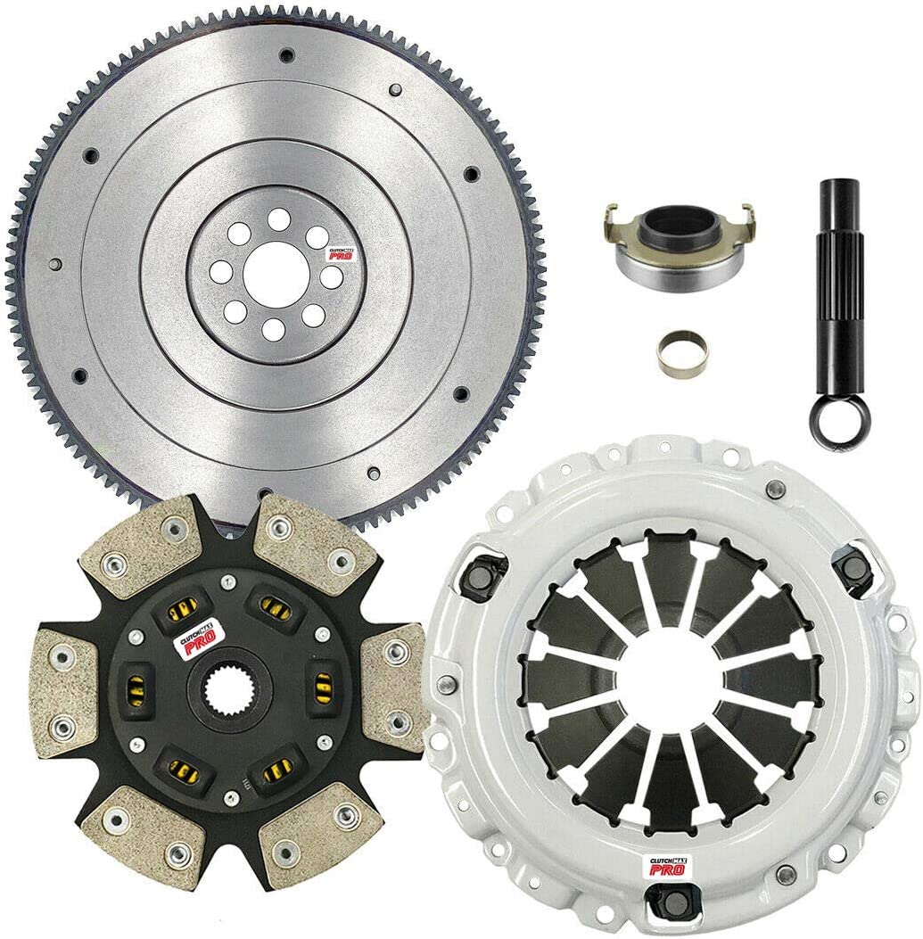 ClutchMaxPRO Performance Stage 3 永遠の定番 品質保証 Clutch Flywheel Kit Compat with