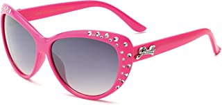 Cute Kids Retro Cat Eye Rhinestone Sunglasses for Teen...