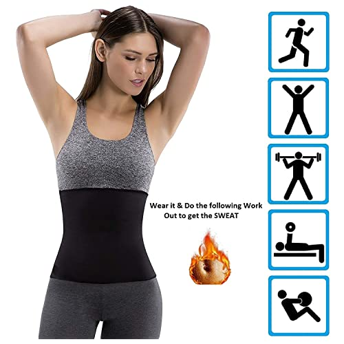 29a147461d ADA Hot Body Slim Shaper Slimming Belt - ADA Tummy Trimmer Neotex Belt  Sauna Women Men
