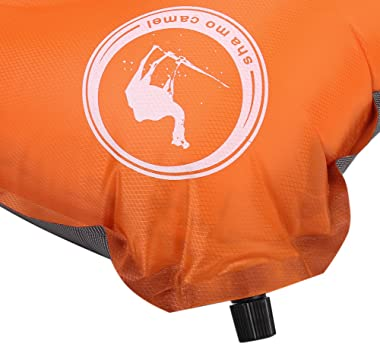 iAjudy Camping Pillow, Inflatable Air Pillow, Self Inflating, Compressible- Best for Outdoor Trips, Backpacking, Hiking, Beac