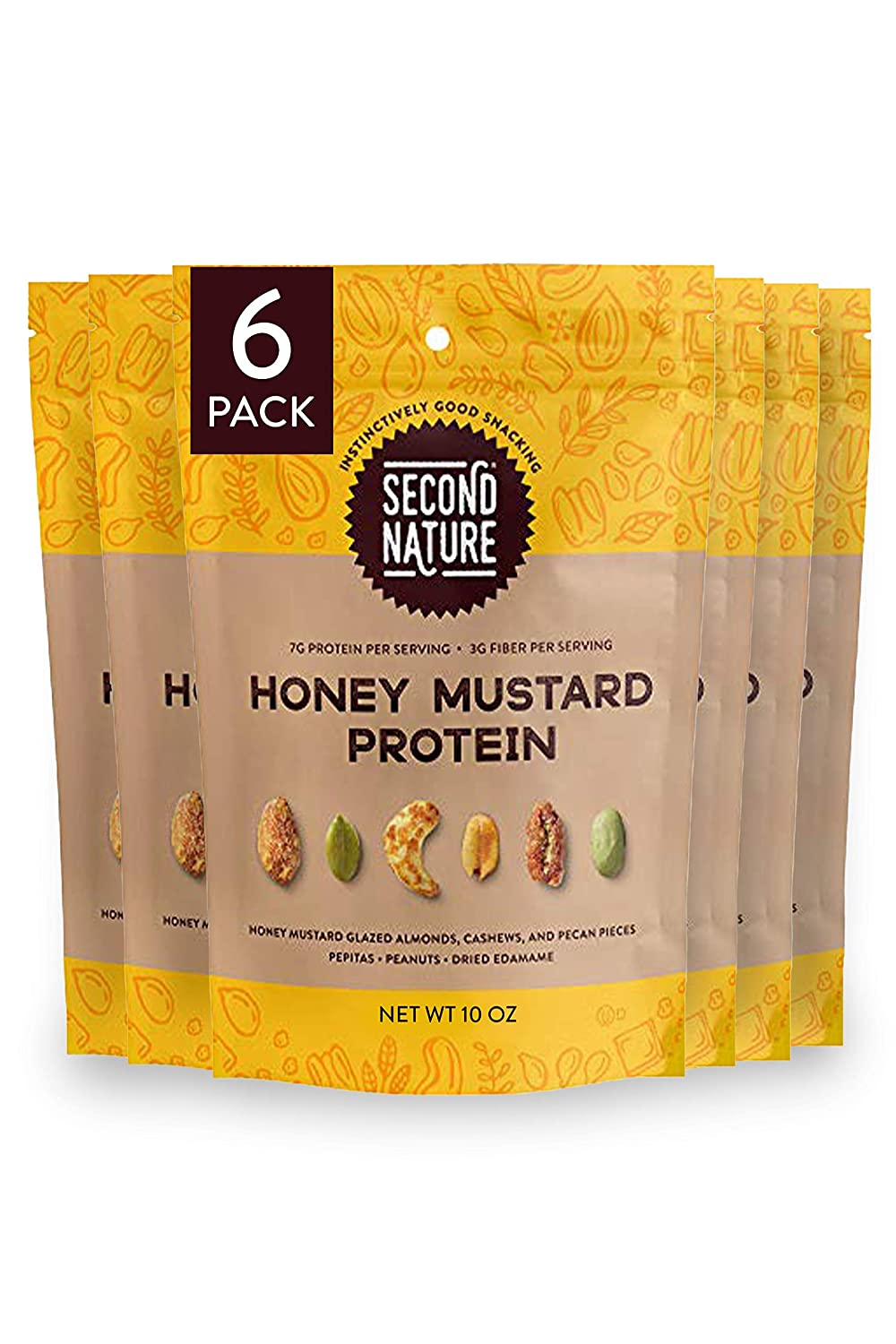 Second Max 44% OFF Nature Honey Mustard Protein Limited time sale Mix Trail