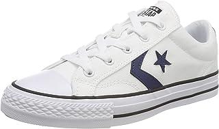 Converse Star Player Ox White/Navy/Black, Sneaker Donna