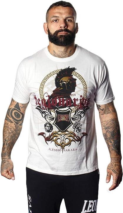 Leone t-shirt da uomo legionarivs maniche corte alessio sakara LEGIO 03