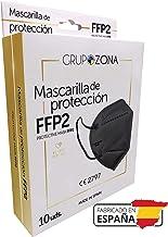 Mascarillas FFP2 negras homologadas y fabricadas en España CE 2797, filtrado de 5 capas - GrupoZona - Mascarilla ffp2 prot...