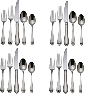 reed and barton flatware hammered