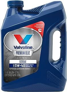 Valvoline  Premium Blue  Extreme SAE 5W-40 Synthetic Engine Oil 1 GA