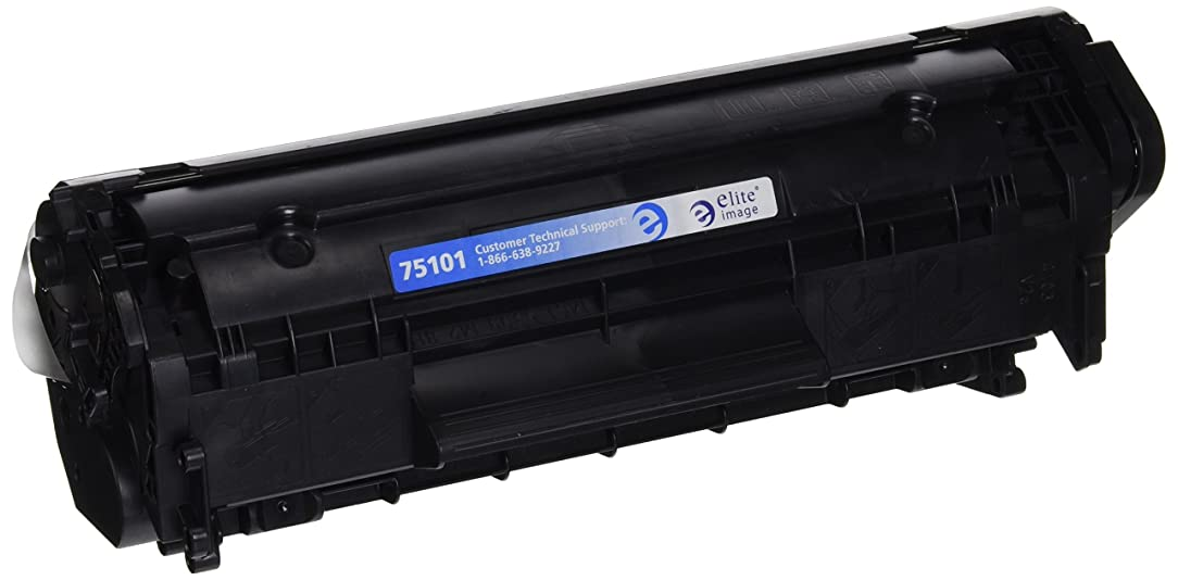 Elite Image ELI75101 Compatible Toner Replaces HP Q2612A (12A), Black