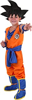 Toddler's Goku Officially Licensed Costume with Blue Sash