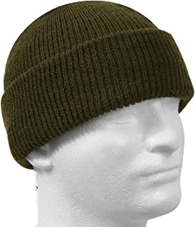 ac0604ef55a Military Issue Watch Cap 100% Wool Skiing Winter Beanie Hat