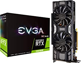 EVGA GeForce RTX 2060 SUPER SC BLACK GAMING, 8GB GDDR6, Dual Fans, 08G-P4-3062-KR (Renewed)
